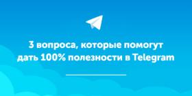 Контент для Telegram